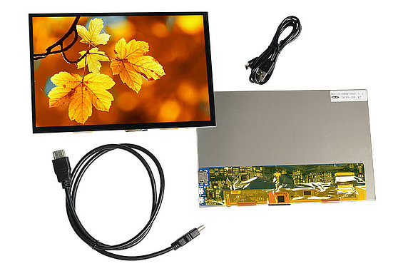 DLC1010BBP30HF-C-1 TFT Display Modul