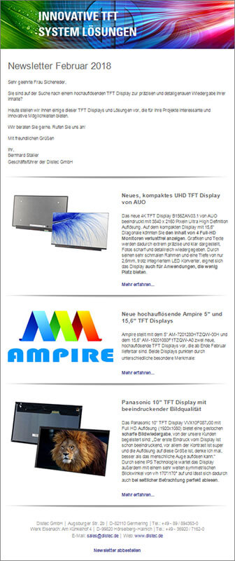 Data Display Group Newsletter