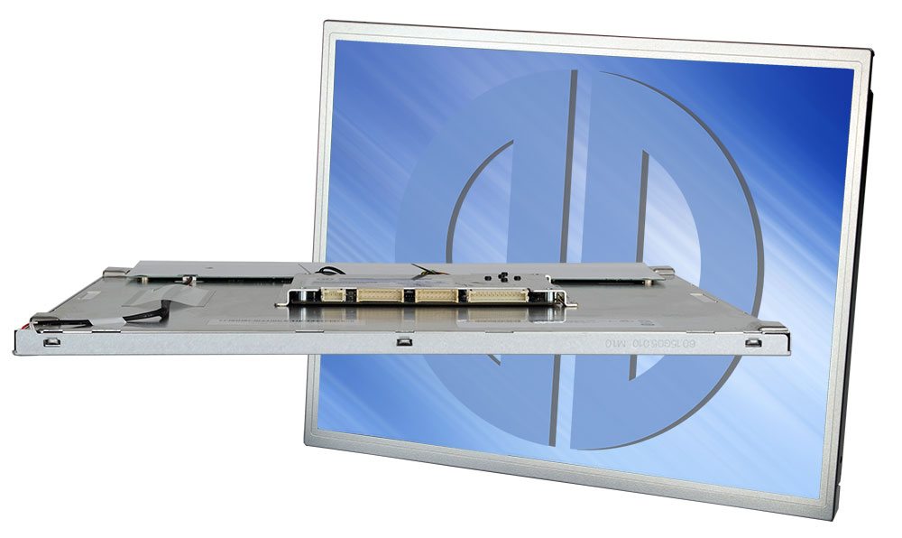Compact Panel display for integration