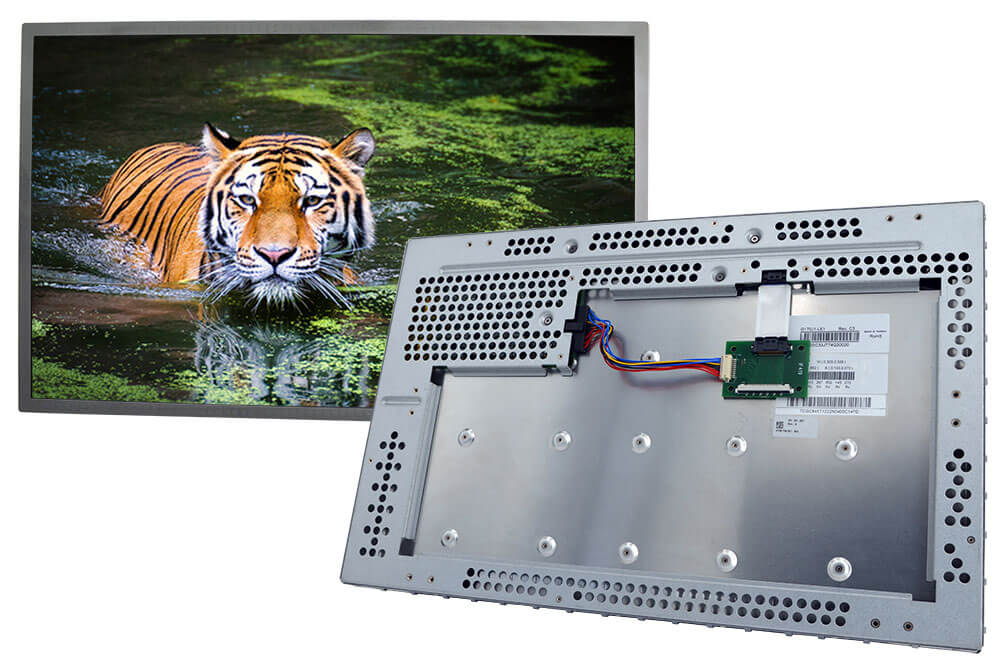 Innolux TFT Display G170J1-LE mit montiertem IF419 Adapter Board