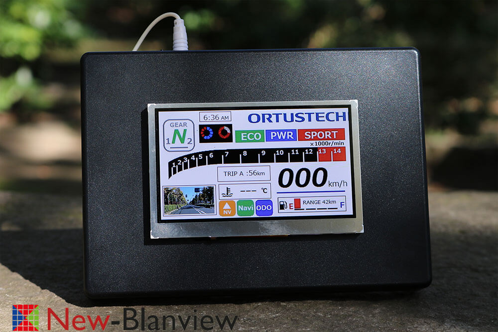 COM43H4N44ULC Ortustech TFT-Display