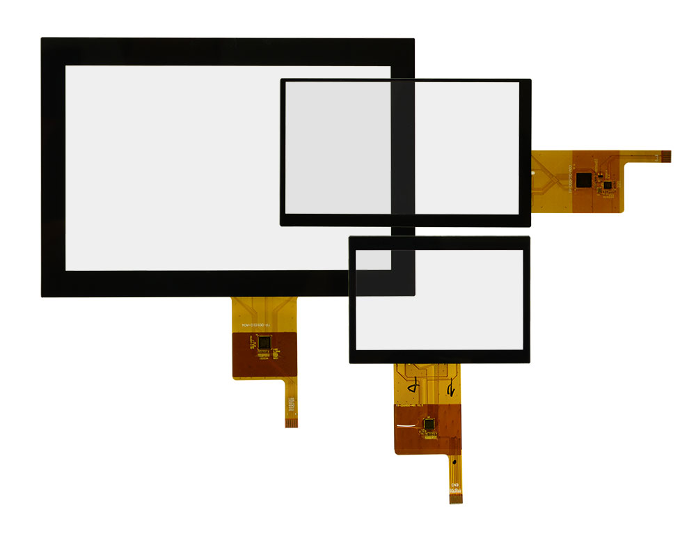 PCAP Multi-Touchscreens der Data Display Group